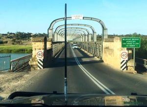 First Bridge over the Murray River, 1879, Murray Bridge, SA