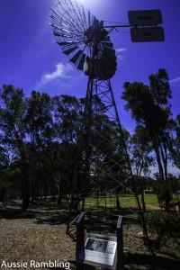 Windmill at Robinvale, VIC