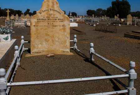 Karen's Great Grandfathers Grave, Broken Hill, NSW