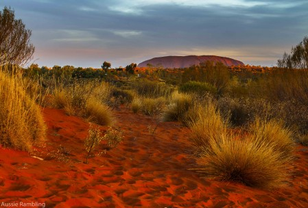 Sunset at Uluru, NT