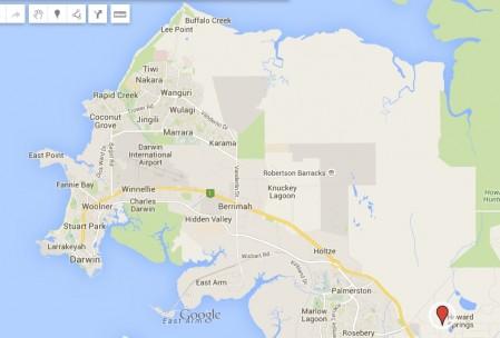 Darwin Map