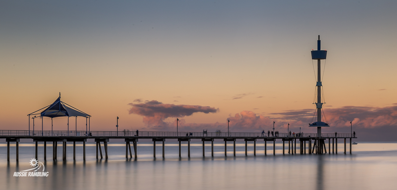Sunrise looking over Brighton Jetty South Australia