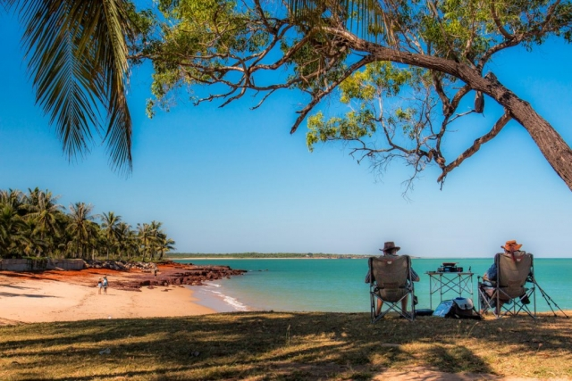 Dundee Beach, Northern Territory, Beach, Picnic, Sand, Palm Trees