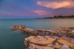 Nightcliff Rocks Sunset, Nightcliff, Darwin, Norhern Territory