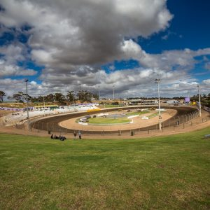 View of the Murray Bridge Speedway Track