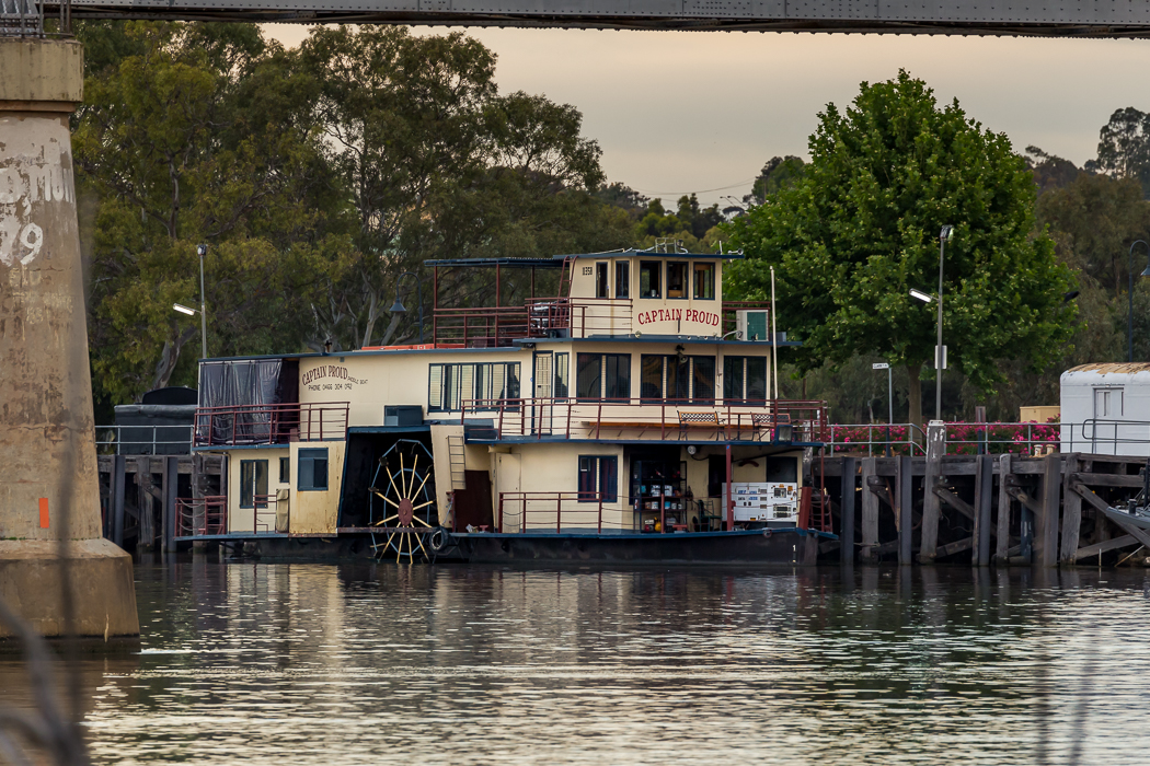 Captain Proud Murray Bridge on the Murray River